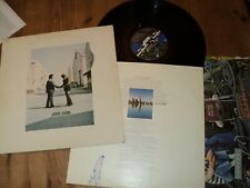 PINK FLOYD / WISH YOU WERE HERE (1975)LP french press 2C068-96918