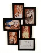 Marco 45x32cm para 6 fotos Galería De Negro / blanco COLLAGE