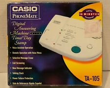 Casio Phonemate Digital Answer Machine TA-105
