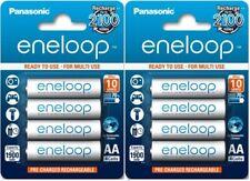 8 x Panasonic Eneloop R6 AA 2000mAh BK-3MCCE/4BE rechargeable batteries 1900mah