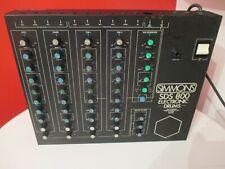 SIMMONS SDS 800 RARE VINTAGE ANALOG DRUMS RUN GENERATOR