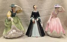3 Royal Doulton Figurines Janice, Buttercup, Sweet April, Great Condition