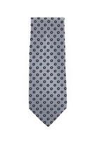 Stefano Ricci Gray Foulard Silk Tie - x - (1167)