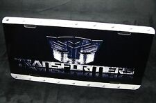 TRANSFORMERS LICENSE NOVELTY PLATE FOR CARS AND SUVS METAL NICELY DESIGN
