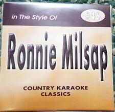 RONNIE MILSAP CDG KARAOKE COUNTRY CLASSICS CKC #46 CD+G PURE LOVE,STRANGER