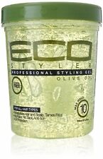ECO Styler Gel Olive Oil Styling Hair Gel No Tack Flakes Hair Gel 946ml/32oz