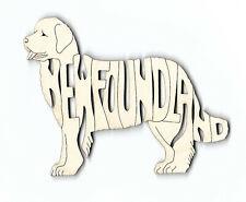 Newfoundland Dog laser cut wood Magnet