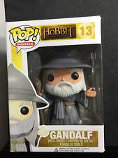 Funko POP The Hobbit Gandalf with Hat VAULTED - #13 BOX WEAR