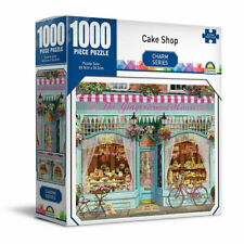 Crown Charm Series - CAKE SHOP Jigsaw Puzzle 1000 Piece New