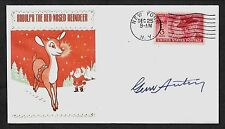 Gene Autry Rudolph The Red-Nosed Reindeer Limited Edt Collector's Envelope A1034