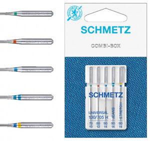 Schmetz 130/705 H Combi-Box 70-90 Nadelsortiment Nähmaschinennadeln