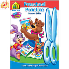 Preschool Practice Scissor Skills 32 Pages(Ages 3-5) Perfect Paperback