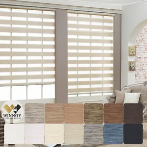 WINNOV Korean Window Roller Blinds Light Filter for Rooms and Office Custom Made