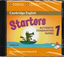 Cambridge English STARTERS 1 for Exam from 2018 Official Material AUDIO CD @New@