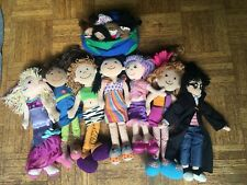 Groovy Girls and surprise dolls, two vintage antique, one Harry Potter and globe