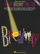 Best Broadway Songs Ever-73 All-Time Broadway Hits Hal Leonard 1991 sheet music