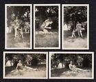 LQQK 5 vintage 1930s originals, MOTHER & DAUGHTER SWIMSUIT MODELS #24