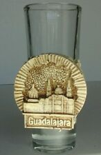 Tequila Shot Glass Souvenir Guadalajara Mexico  Excellent!