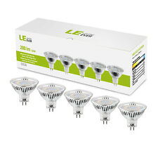 LE 5er 3,5W MR16 GU5.3 LED Birnen Beleuchtung, 12V 280lm LED Leuchte, Warmweiß