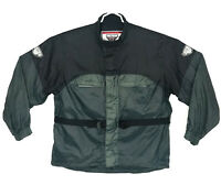 Firstgear Rainman Men's Rain Silver/Black Waterproof Jacket packable outdoor 2XL