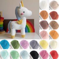 Amigurumi Yarn - Crochet / Knitting Cotton Thread  - 6 X 20g Multicolor Bundle