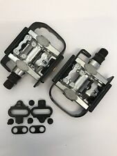 SPD Pedals And Cleats Shimano Compatible