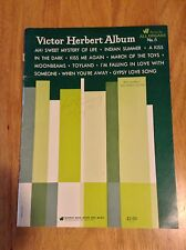 Victor Herbert Album Warner Brothers Series For All Organs No. 5 Vintage Music