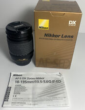 Nikon AF-S Nikkor 18-135mm f/3.5-5.6G DX ED IF Zoom Lens D3200 D5300 D7000