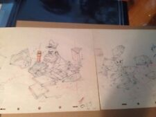 Disney's Autograph Hound Donald Duck 2 Production Drawings