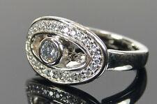 Echt 925 Silber Pierre Cardin Ring Damen Bandring Silberring massiv UVP 65,