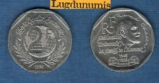 V République 1959 - / 2 Francs 1998 René Cassin TB TTB Commémorative
