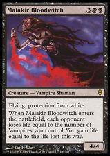 MTG MALAKIR BLOODWITCH EXC - STREGA SANGUINARIA DI MALAKIR - ZEN - MAGIC