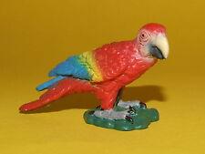 14) Schleich Schleichtier Vogel Papagei Ara rot 14329