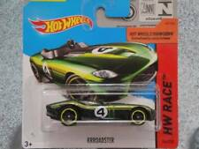 Hot Wheels 2014 #155/250 RRROADSTER Verde HW CARRERA NUEVO Fundición