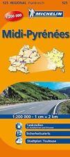Michelin Languedoc-Roussillon: Straßen- und Tourismuskarte 1:200.000