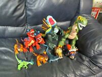 Lot of Fisher Price Mattel Imaginext Dinosaurs T-Rex and more with Sound