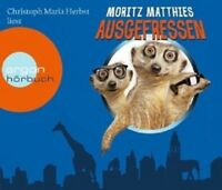 CHRISTOPH MARIA HERBST - MORITZ MATTHIES: AUSGEFRESSEN 4 CD HÖRBUCH NEU