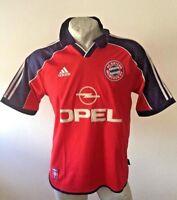 Maglia calcio adidas bayern munchen monaco trikot opel jersey vintage 1995