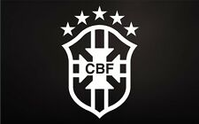 CBF Brasil Vinyl Decal Car Truck Window STICKER Futbol Soccer Futebol Brazil