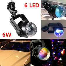 1X Car Autos Music Active 6 LED Stage Lighting Club DJ Party Disco Interior Lamp