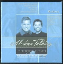 MODERN TALKING : 10CD BOX-SET - SELECTED SINGLES - NEU/VERSIEGELT