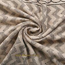 100% Cotton Indian Blanket Hand loomed Mud Cloth Throw Turkish Tassels Throw