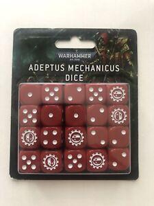 Warhammer 40k Limited Adeptus Mechanicus Dice *NEW* *OOP*