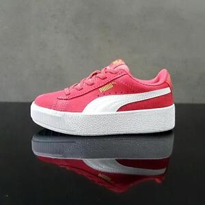 Puma VIKKY PLATFORM Paradise Pink/Puma White Kids Shoes 6.5