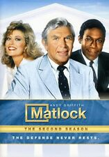 Matlock: The Second Season [6 Discs] DVD Region 1