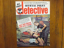 1971 Official Police Detective Mag(LAWRENCE JOHSON//NORMAN THORNE/CLAUDE GRIFFIN