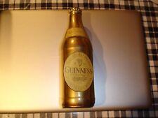 Metal Guinness Beer Bottle Metal Labels Award, Brass Gold Plating Finished