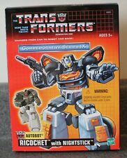 Transformers Commemorative IX Ricochet With Nightstick