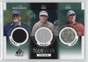 2014 SP Game Used Edition Shirt Colin Montgomerie Hale Irwin Ken Duke Rookie