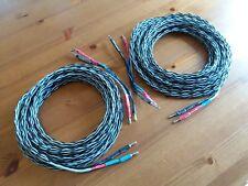 RUSS Andrews/Kimber Cable Cavo Altoparlante 4VS-COPPIA 7.1m con i ponticelli 4TC
